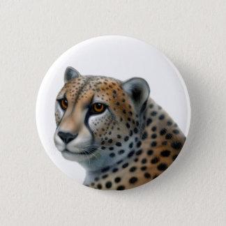 Badge Rond 5 Cm Bouton de guépard