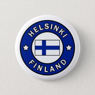 Badge Rond 5 Cm Bouton de Helsinki Finlande