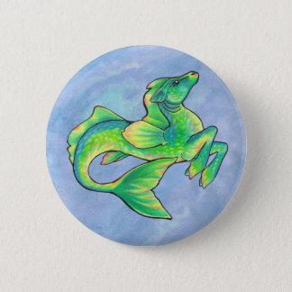 Badge Rond 5 Cm Bouton de hippocampe