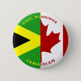 Badge Rond 5 Cm Bouton de Jamaidian