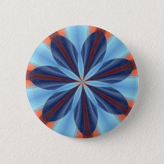 Badge Rond 5 Cm Bouton de kaléidoscope