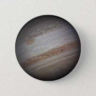 Badge Rond 5 Cm Bouton de l'espace de Jupiter de planète