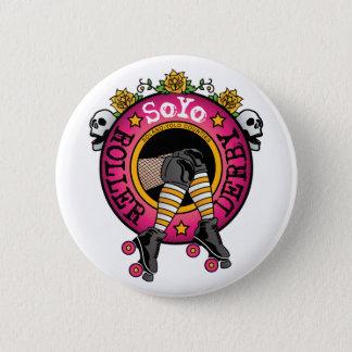 Badge Rond 5 Cm Bouton de logo de Soyo