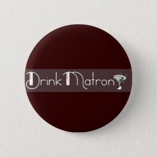 Badge Rond 5 Cm Bouton de logo d'infirmière de boissons