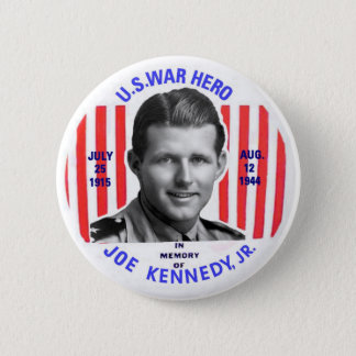 Badge Rond 5 Cm Bouton de mémorial de Jr. de Joe Kennedy
