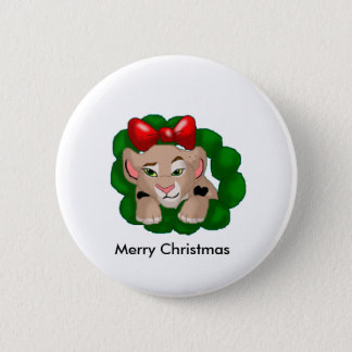 Badge Rond 5 Cm Bouton de Merry_Christmas