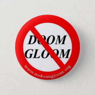 Badge Rond 5 Cm Bouton de NoDoomGloom.Org