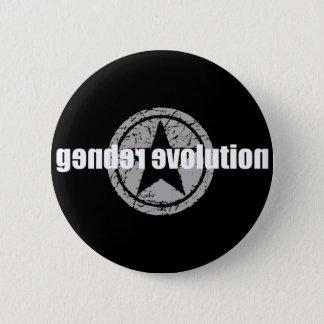 Badge Rond 5 Cm Bouton de noir d'évolution de genre