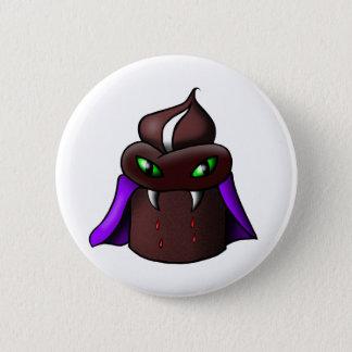 Badge Rond 5 Cm Bouton de petit gâteau de vampire