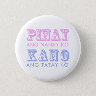 Badge Rond 5 Cm Bouton de Pinay-Kano