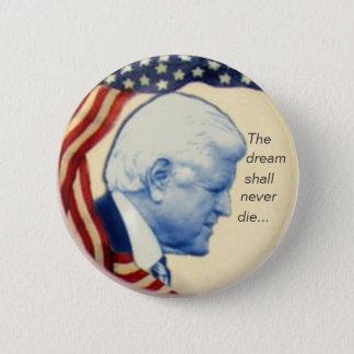Badge Rond 5 Cm Bouton de profil de Ted Kennedy