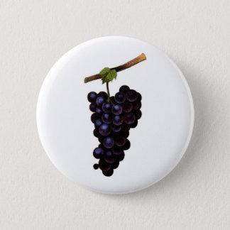 Badge Rond 5 Cm Bouton de raisins