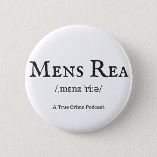 Badge Rond 5 Cm Bouton de Rea des hommes
