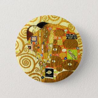 Badge Rond 5 Cm Bouton de réalisation de Gustav Klimt