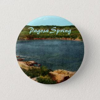 Badge Rond 5 Cm Bouton de ressort de Pagosa