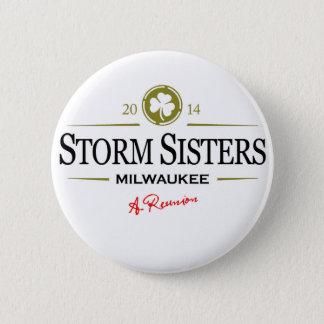Badge Rond 5 Cm Bouton de soeurs de tempête