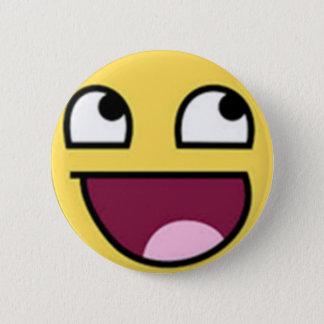 Badge Rond 5 Cm Bouton de sourire