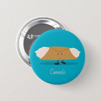 Badge Rond 5 Cm Bouton de sourire du cannolo |