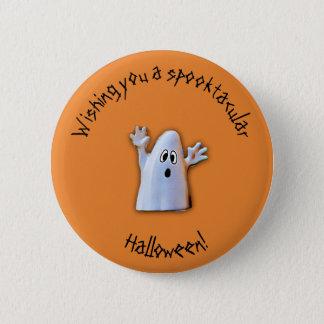Badge Rond 5 Cm Bouton de Spooktacular Halloween