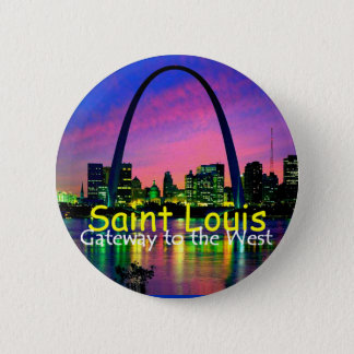 Badge Rond 5 Cm Bouton de St Louis