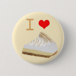 Badge Rond 5 Cm Bouton de tarte d'I <3 Lemmon