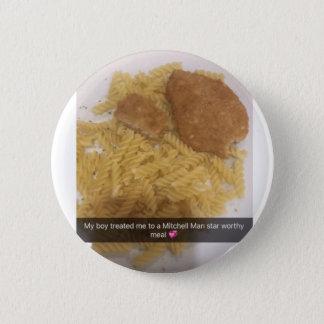 Badge Rond 5 Cm Bouton de TNIT (repas d'étoile d'homme de