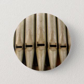 Badge Rond 5 Cm Bouton de tuyaux d'organe