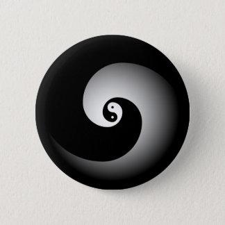 Badge Rond 5 Cm Bouton de Yin