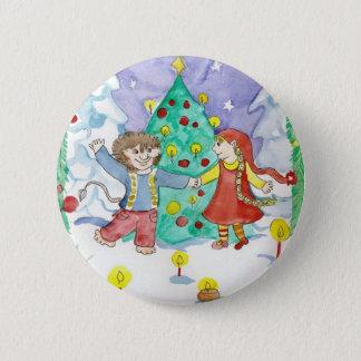 Badge Rond 5 Cm Bouton d'Elfdance