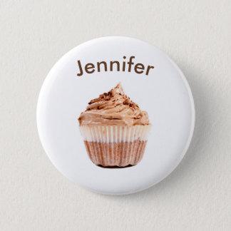 Badge Rond 5 Cm Bouton d'étiquette de nom de petit gâteau de