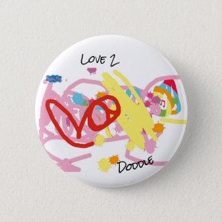 Badge Rond 5 Cm Bouton drôle avec Doddle