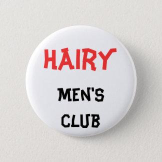 Badge Rond 5 Cm Bouton du club des hommes velus