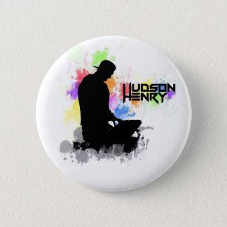 Badge Rond 5 Cm Bouton du Hudson Henry
