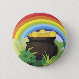 Badge Rond 5 Cm Bouton du jour de St Patrick