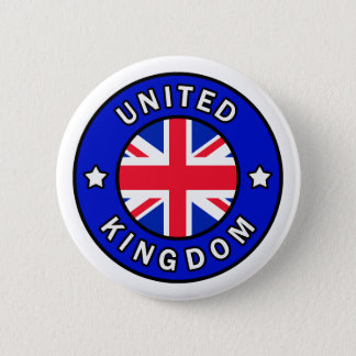 Badge Rond 5 Cm Bouton du Royaume-Uni