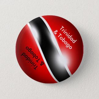 Badge Rond 5 Cm Bouton du Trinidad et du Tobago