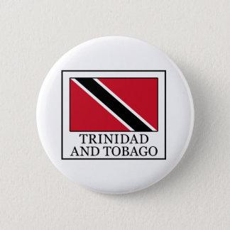 Badge Rond 5 Cm Bouton du Trinidad-et-Tobago
