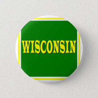 Badge Rond 5 Cm Bouton du Wisconsin LL