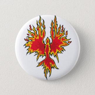Badge Rond 5 Cm Bouton en hausse de Phoenix