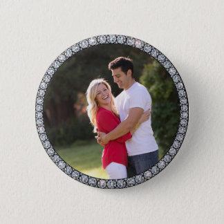 Badge Rond 5 Cm Bouton fait sur commande de photo d'anneau de