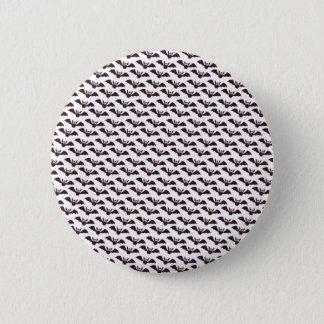 Badge Rond 5 Cm Bouton heureux de Pin de papier de chat noir de