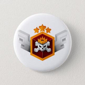Badge Rond 5 Cm Bouton impeccable de victoire du jeu | de