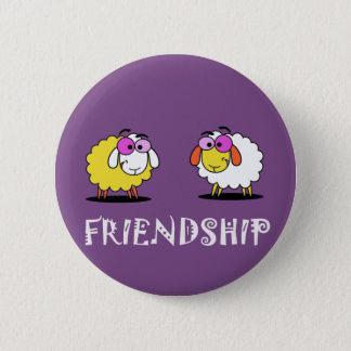 Badge Rond 5 Cm Bouton impressionnant d'amitié