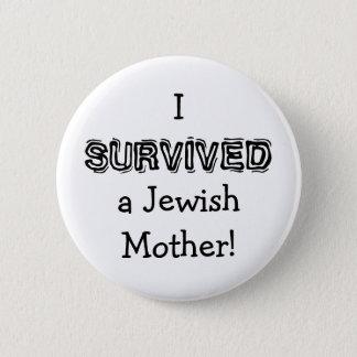 Badge Rond 5 Cm Bouton juif d'humour