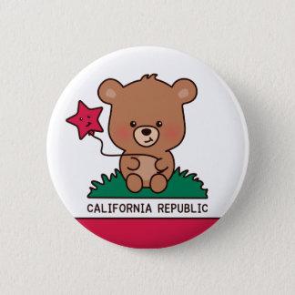 Badge Rond 5 Cm bouton - la Californie douce