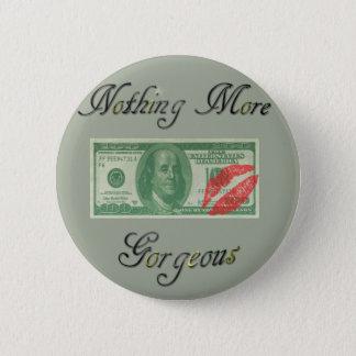 Badge Rond 5 Cm Bouton magnifique d'argent