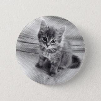 Badge Rond 5 Cm Bouton mignon de Kitty