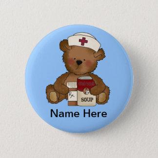 Badge Rond 5 Cm Bouton mignon d'infirmière