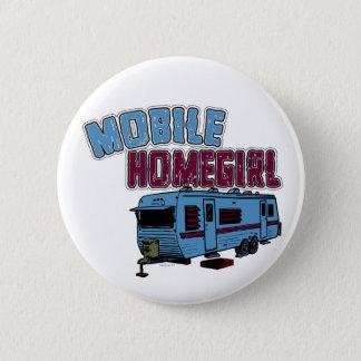 Badge Rond 5 Cm Bouton mobile de Homegirl