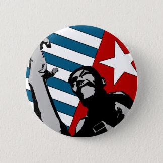 Badge Rond 5 Cm Bouton occidental libre de la Papouasie